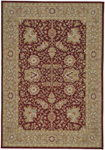 Capel Century 8704-550 Floret Red Area Rug