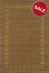 Oriental Weavers Lanai 880N7 Brown Closeout Area Rug
