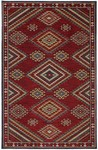 Karastan Woolrich 90034-4119 Founders Point Garnet Closeout Area Rug