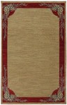 Karastan Woolrich 90035-4114 Pinecroft Toffee Closeout Area Rug