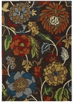 Karastan Intermezzo 90161-80057 Ghana Floral Coffee Bean Closeout Area Rug