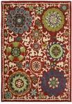 Karastan Intermezzo 90165-30018 Khiva Tomatillo Red Closeout Area Rug