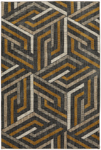 Mohawk Home Metropolitan 90994 10039 Aster Mustard Closeout Area Rug