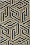 Mohawk Home Metropolitan 90994 90121 Aster Onyx Closeout Area Rug