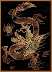 United Weavers Legends 910 03230 Dragon Luck Area Rug