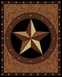 United Weavers Legends 910 04950 Ranch Star Area Rug