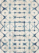 Karastan Expressions 91669 70033 TriCorner Accordion Beige by Scott Living Area Rug