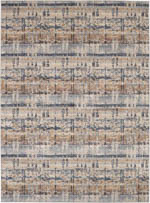 Karastan Expressions 91675 50128 Kaleidoscopic Denim by Scott Living Area Rug
