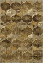 Karastan Expressions 91824 10034 Iconograph Gold by Scott Living Area Rug