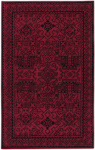 Capel Velvet 9201-550 Graphic Ruby Closeout Area Rug