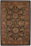 Capel Kaimuri 9282-300 Agra Black Area Rug