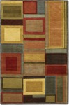 Couristan Pokhara 9382/0786 Iridescent Blocks Multi Color Closeout Area Rug - Spring 2017
