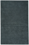 Capel Gallery 9409-350 Parquetry Charcoal Area Rug