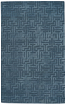 Capel Gallery 9410-430 Puzzle Slate Blue Area Rug