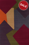 Oriental Weavers Andy Warhol Pop Abstracts 94R Reflection Multi Closeout Area Rug