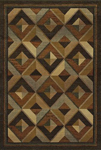 Oriental Weavers Genesis 956Q1 Gold Closeout Area Rug