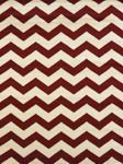 United Weavers Visions 970 20040 Chevron Red Closeout Area Rug