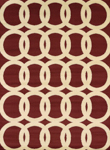 United Weavers Visions 970 20130 Sochi Red Closeout Area Rug