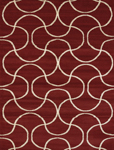 United Weavers Visions 970 20630 Pavane Red Closeout Area Rug