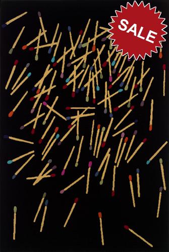 Oriental Weavers Andy Warhol Signature 9b Matchsticks