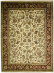 Bashian Bradford A104 JN106 Agra Ivory/Red Closeout Area Rug