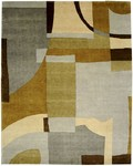 Bashian Tribeca A134 P252 Forms Multi Closeout Area Rug