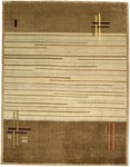 Bashian Tribeca A134 P257 Paths Taupe Closeout Area Rug