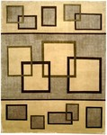 Bashian Tribeca A134 P263 Quadrants Beige Closeout Area Rug