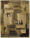 Bashian Tribeca A134 P264 Intersect Multi Closeout Area Rug