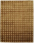 Bashian Tribeca A134 P275 Cherry Squares Chocolate Closeout Area Rug