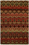 Allara Artifacts RF-1014 Rust/Gold Area Rug