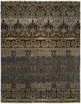 Allara Artifacts RF-1015 Slate/Brown Area Rug