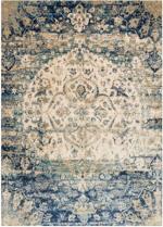 Designer Series 17018 Affinity Blue/Ivory Rug