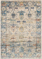 Designer Series 17020 Omar Beige/Light Blue Rug