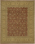 Chandra Angora ANG1405 Rust/Ivory Closeout Area Rug