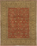 Chandra Angora ANG1407 Imperial Red Closeout Area Rug