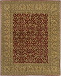 Chandra Angora ANG1411 Wine/Beige Closeout Area Rug