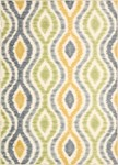 Nourison Waverly Aura of Flora AOF01 WAS Wasabi Closeout Area Rug