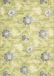 Nourison Waverly Aura of Flora AOF02 WAS Wasabi Closeout Area Rug