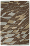 Nourison Aspects AP09 BRN Brown Closeout Area Rug