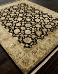 Jaipur Aurora AR06 Nephi Ebony/Light Gold Closeout Area Rug - Fall 2013