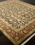 Jaipur Aurora AR09 Tatyana Cocoa Brown/Red Ochre Closeout Area Rug