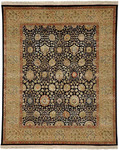 Jaipur Aurora AR14 Isabel Ebony/Light Sand Closeout Area Rug