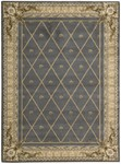 Nourison Ashton House AS03 BL Blue Area Rug