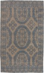 Designer Series DS04L04 Taupe Agra Medallion Closeout Rug