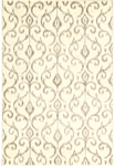 Feizy Azeri III 3842F Cream/Grey Area Rug