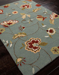 Jaipur Barcelona Indoor-Outdoor BA01 Jardin Ice Blue/Ice Blue Closeout Area Rug - Fall 2013