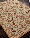 Jaipur Barcelona Indoor-Outdoor BA20 Ohiva Dark Ivory/Dark Ivory Closeout Area Rug - Fall 2013