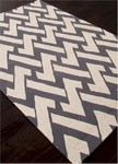 Jaipur Barcelona Indoor-Outdoor BA32 Interlocked Steele Gray & Turtle Dove Closeout Area Rug