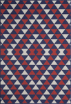 Momeni Baja BAJ-5 Red Closeout Area Rug